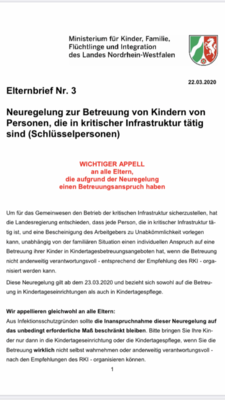 Elternbrief Appell Corona 23.03.2020 A